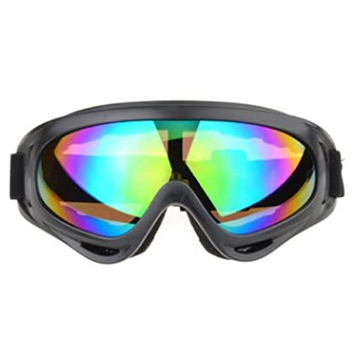 Gafas de esquí Moda A Prueba de Viento Protector Unisex Gafas de Nieve Gafas al Aire Libre