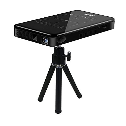 Niiyen Mini Projector, Portable Projector Intelligent DLP Display HD Input WiFi Wireless Projection Projector, HD Smart DLP Pocket Projector HDMI USB Home Theater Media Player(US)