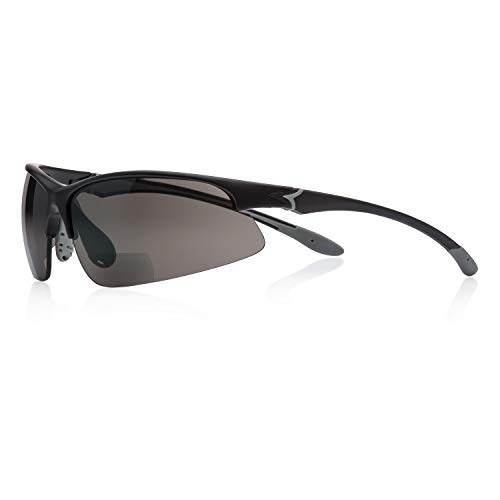 magic-eyewear Sportbrille mit Lesehilfe, bifokal (Stärke +2,00dpt)