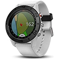 Garmin Approach S60 Premium GPS Golf Watch with Touchscreen Display (White)
