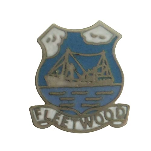 1000 Flags Fleetwood Town Crest Pin Badge