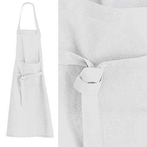 Today 257523 Tablier Coton Chantilly/Blanc 79 x 104 cm