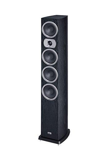 HECO Victa Prime 602 | 3 Wege Heimkino- und Stereo-Standlautsprecher | 1 Stück - schwarz