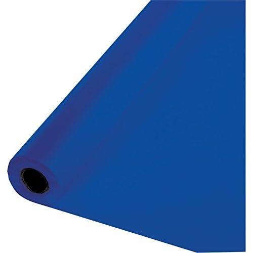 Arts & Crafts Navy Blue Amscan International Tableroll Plastic S/C