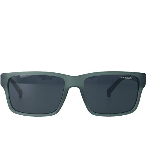 Arnette Unisex-Erwachsene AN4254 258587 56 MM Sonnenbrille, Green/Grey, 56/17/145