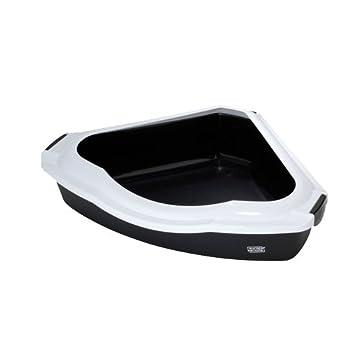 Ebi Spectra 60 Maison de Toilette pour Chat Gris Foncé 38 x 56 x 14 cm