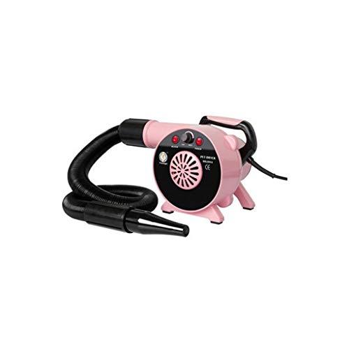 Cxjff Jlxl Dog Dryer 2500W Agua for Mascotas for soplador Secador de Pelo Windy Low Noise (Color : Pink)