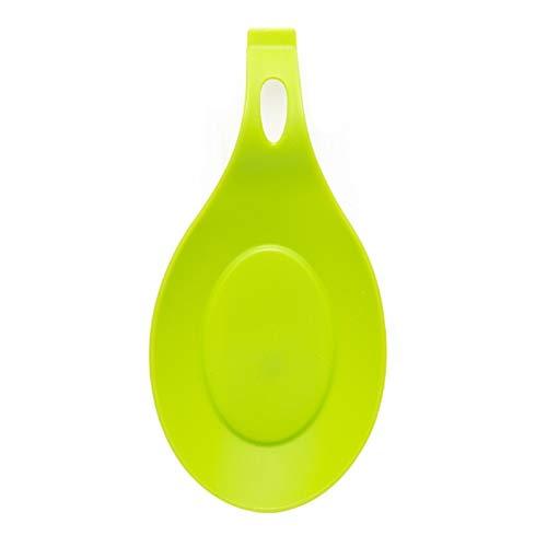 Coaster intéressant Tapis de serviettes en silicone - qualité alimentaire silicone Cuillère Mat silicone résistant à la chaleur napperon Plateau cuillère Pad boire un verre Coaster outil de cuisine Pr