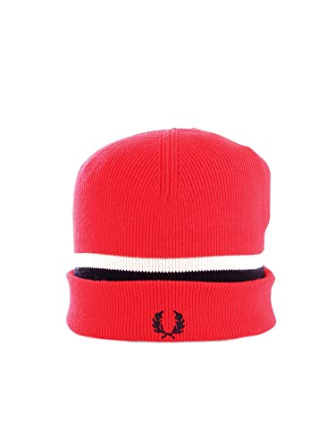 Fred Perry C7150 Gorra Hombre ROJO GENERICA
