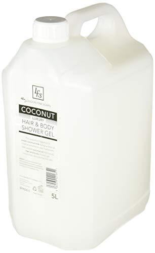 London feine Seifen byr230–5LFS Coconut Luxus Hair und Body Dusche Gel, 5l (2Stück)