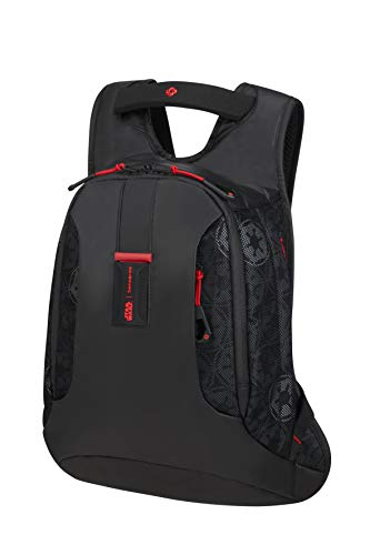Samsonite Paradiver Light Mochila Infantil, S+ (42 cm 10 L), Negro (Darth Vader Black Mesh)