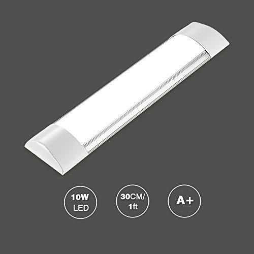 Preisvergleich Produktbild Bellanny LED Lichtleiste, 10W LED Röhre,  30CM,  Kaltweiß (6000K),  Leuchtstoffröhre für Schlafzimmer,  Küche,  Arbeitszimmer,  Büro usw.
