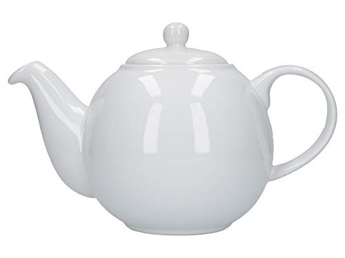 London Pottery Globe Teiera 6 tazze, colore: Bianco