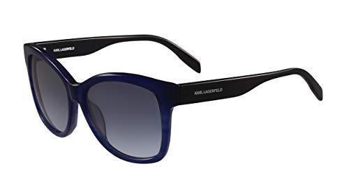 Karl Lagerfeld Sonnenbrille KL909S Gafas de sol, Azul (Blau), 56.0 Unisex Adulto