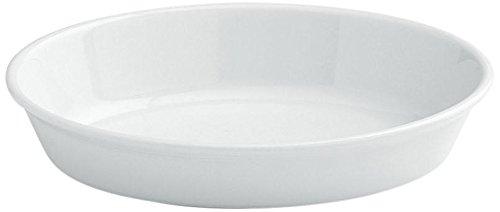 Tognana 22 cm-PL-Cook Plat de Cuisson Ovale, Blanc