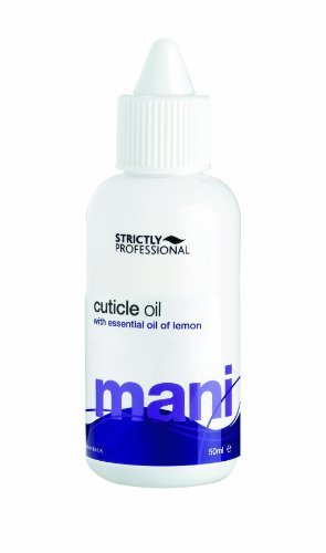 Strictly Professional Creamy Oil With Essential Oil of Lemon Reduces Dryness in the Cuticle 50ml by Strictly Professional (English Manual)