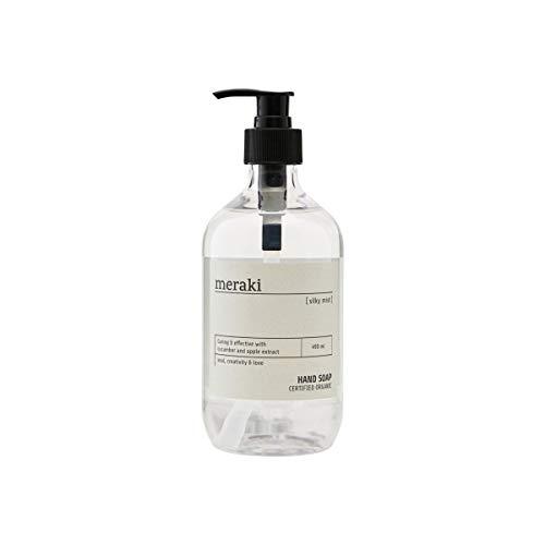 Meraki - Silky Mist - Handseife - Pumpspender - Natürliche Inhaltstoffe - 490ml