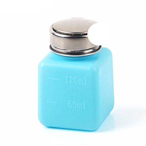 ExcLent 120ML vide liquide alcool presse bouteille colle résidu Remover propre outil portable distributeur pompe bouteille