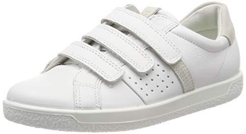 ECCO Damen Soft 1 Ladies Sneaker, Weiß (White/Shadow White 52292), 39 EU
