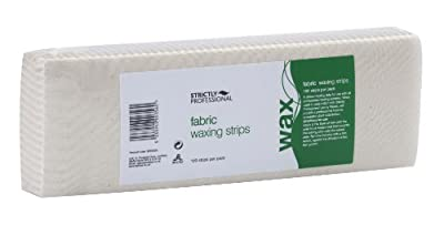Strictly Professional Fabric Waxing Strips- Pack of 100 Strips