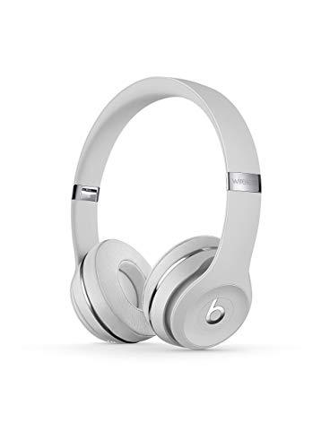 Beats by Dr. Dre - Beats Solo3 Wireless On-Ear Headphones - (Satin Silver) (Renewed)