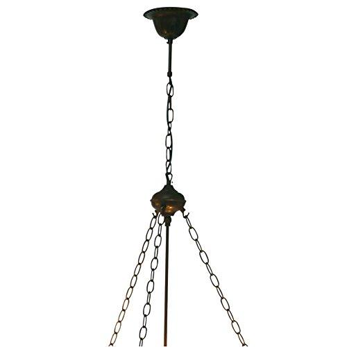 LumiLamp 5LL-8842 hanglamp ketting voor Tifanny/glazen lamp ca. 100 cm.