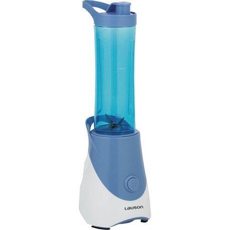 Lauson Batidora Portátil de Vaso extraíble, Mini Mixer para Smoothies, Licuadora de 600ml, 300W, Color Azul