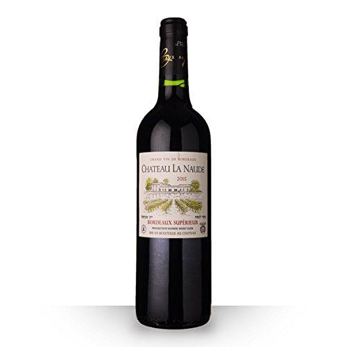 Château la Naude 2015 Rouge 75cl AOC Bordeaux supérieur (kosher)