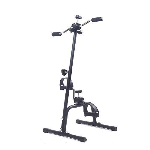 Bicicleta estática con Pedal, Vendedor Ambulante de Ejercicios para Brazos y piernas, Bicicleta estática con Pedal portátil, Paso a Paso para Personas Mayores, Entrenador de Brazos y piernas, Regalos