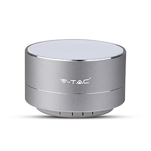 Mini-microfoon speaker draagbaar met LED bluetooth microfoon, SD - V-TAC