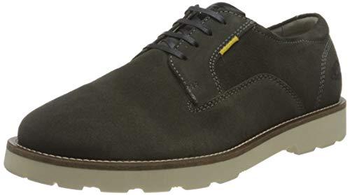 camel active Herren Blaze Low lace Shoes Oxford, Grey, 44 EU