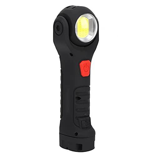 Linterna Luz de emergencia Montañismo Camping Suministros para exteriores Linterna LED de 3,7 V con magnetismo Luz de trabajo de mantenimiento móvil