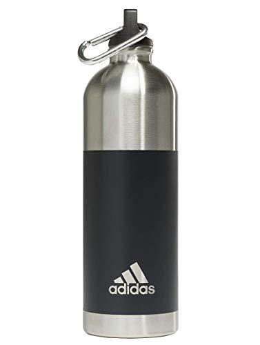 adidas Erwachsene Steel 0,75 Flasche, Carbon, One Size