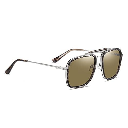 Gafas de sol de los hombres polarizadas lujo marca diseño anti-deslumbrante gradiente lente 2021 conducción cuadrado sol gafas mujeres