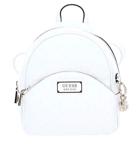 Guess Logo Love Bradyn Backpack Ivory