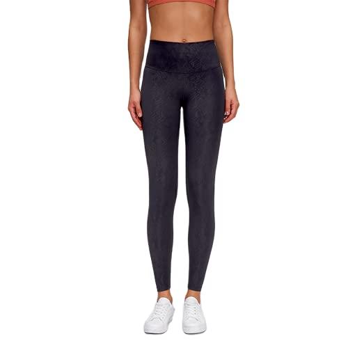 QTJY Pantalones de Yoga de Cintura Alta para Mujer Pantalones Deportivos Deportivos Pantalones de chándal de Entrenamiento para Celulitis y Flexiones de Cadera Delgados H S