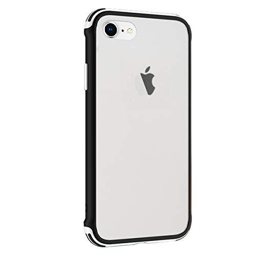 Rdyi6ba8 Funda Compatible con iPhone 6 Plus 5.5 Pulgadas, Ligera Delgado Transparente PC Rigida Carcasa Silicona TPU Bumper Resistente Impactos Caso para iPhone 6S Plus, Blanco