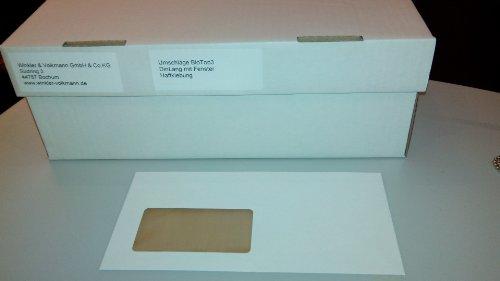 BioTop 3 Extra Umschläge 90g TCF von Mondi DIN Lang mit Fenster - 100 Stück