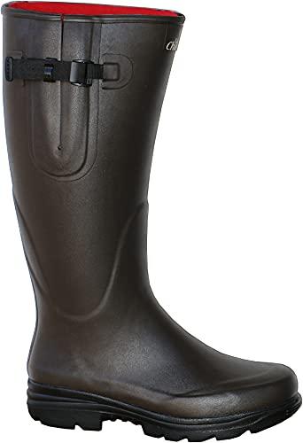 La Chasse Neoprene-Gummistiefel für Damen und Herren Jagdgummistiefel Boots mit Neoprene Gummistiefel für Jäger Neoprenestiefel Naturkautschukstiefel LaChasse (47 EU)