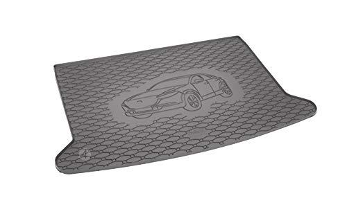 Passgenau Kofferraumwanne geeignet für Mazda CX-30 ab 2019 ideal angepasst schwarz Kofferraummatte