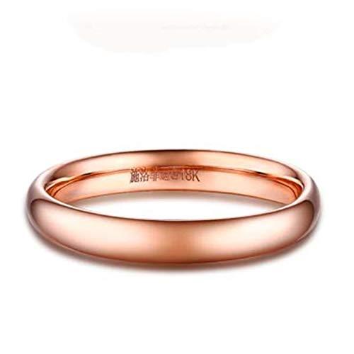 Ubestlove Partnerringe Ohne Stein Frauen Ringe Rosegold Poliert Ring Matching Rings For Couplesct