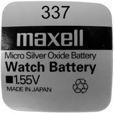 Maxell 337 - SR416SW - 1 Pila de óxido de plata, 1.55 V