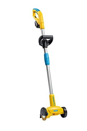 GLORIA WeedBrush li-on, Cepillo para malezas con funcionamiento a batería, Para limpiar entre las losas de la terraza, Incluye cepillo de alambre de acero para juntas, Se necesita batería Bosch 18 V