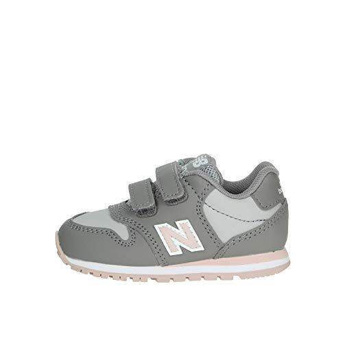 New Balance KV500 PGI Grau Rosa Babyschuhe Sneak Turnschuhe 25