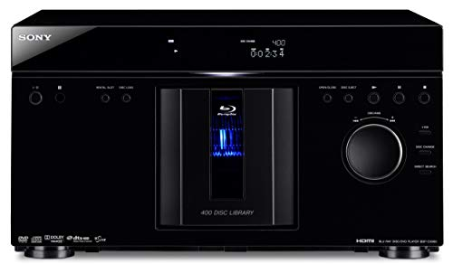 Fantastic Deal! Sony BDP-CX960 400 Disc Blu-ray Disc / DVD MegaChanger (Black) (2009 Model) (Renewed...