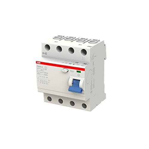 ABB f204a-40/0,3 4-Polig Typ A FI-Schutzschalter, 230V, 40A