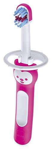 MAM Escova de Dentes Baby's Brush, Rosa