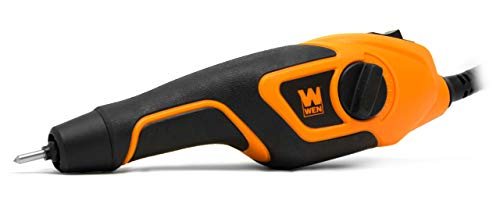WEN 21D Variable-Depth Carbide-Tipped Engraver for Wood and Metal , Orange