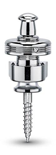 Schaller シャーラー ストラップロックピン S-Locks クローム #14010201/Chrome ペア 【国内正規品】
