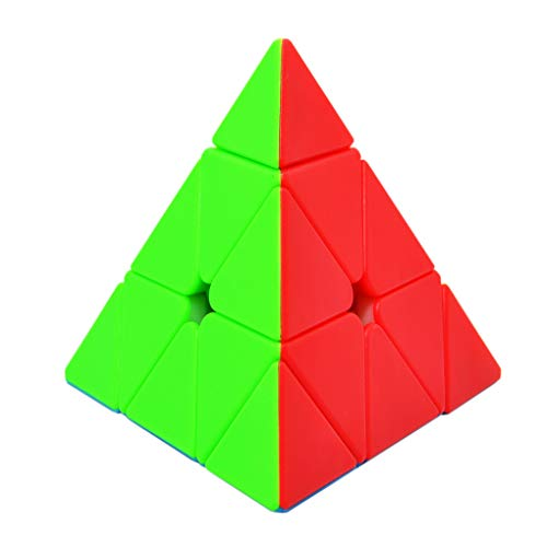 Maomaoyu Pyraminx Stickerless 3x3 3x3x3 Piramide Triangolo Cubo Speed Cube Magic 3D Puzzle Cube Velocidad Cubo Niños Juguetes Educativos